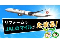 JALのマイルがたまる!